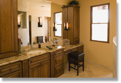 Bathroom Light Installation | McKinney, TX